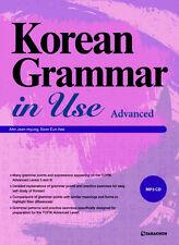 "Korean Grammar in Use ""Advanced"" with MP3 CD, Korea Hangul K POP Drama Movie"