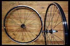 HANDBUILT Wheels Miche Primato Syntesi / Mavic Open Pro UST / Sapim Race black.