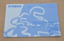 YAMAHA TMax XP500 XP500A Manual du Proprietaire Bedienungsanleitung Motor 2014
