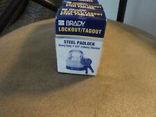 BRADY LOCKS SET OF 6 BRAND NEW