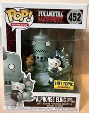 Funko Pop! Fullmetal Alchemist Alphonse Elric With Kittens Hot Topic