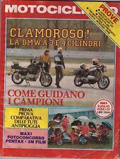 7 1983 - MOTOCICLISMO - HONDA CX 650 E - FANTIC SPORT 125 - VESPA PK 50S - TRIAL