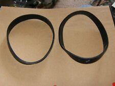 (2) New Eureka Flat Belt For Bravo Upright Vacuum.