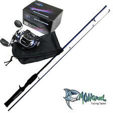 New Baitcaster Rod & Reel Combo 1.7 meter Rod Reel Bait Caster kayak fishing