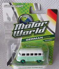 VW SAMBA BUS GREENLIGHT Motor World GERMAN Ser. 5 GREEN MACHINE CHASE (1 of 45)