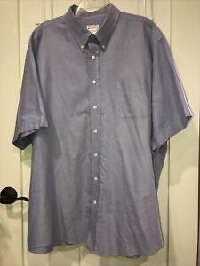Kings Court Blue Dress Shirt Men's 19