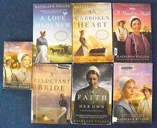 Lot of 7-Hearts of Middlefield,BirchCreek,Mi ddlefield Amish Kathleen Fuller Bl12