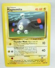 Common Pokemon Card Magnemite 53/102 1999 Wizards