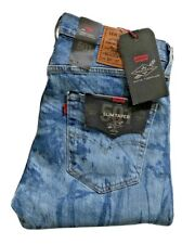 Levis Jeans 501 Slim Taper Justin Timberlake W32 L32 72774-0003 Fresh Leaves
