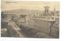 AK  Wunsiedel Marktplatz  Fichtelgebirge  gel 1923