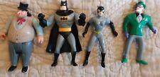 4 D C Comics 1993 Riddler  Batman Cat Women And Kenner Penguin Figure