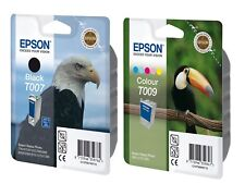 Epson T007/T009 Genuine/Original Ink Cartridges Epson Stylus Photo 900 1290 1280