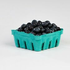 50- Pactiv 1/2 pint Green Pulp Berry Baskets (great for crafts, produce)