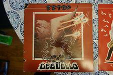 ZZ TOP DEGUELLO WARNER BROS HS 3361 1979 - LP VINYL