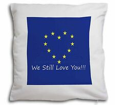 British Brexit, Europe 'We Still Love You' Soft Velvet Feel Cushi, BRITISH-4-CPW