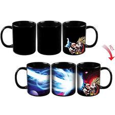 Dragon Ball SSJ Z Goku Ceramic Heat Reactive Color Changing Coffee Mug Cup New