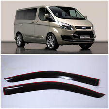 Wide Window Visors Side Guard Vent Deflectors For Ford Tourneo/Transit Custom