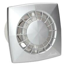 Grey Bathroom Extractor Fan 125mm / Modern Ventilator Duct Vent