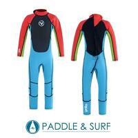 Yello Boys Junior Full Length Steamer 2mm Summer Flatlock Wetsuit Swim Surf