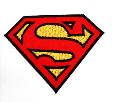 Superman SmallVille JLA DC Cartoon Comic Movie Hero Shirt Jacket cap Iron Patch