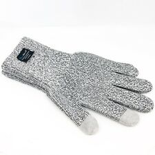 DexShell Large TouchFit Waterproof Windproof Seamless Gloves Silicone Grip Gray
