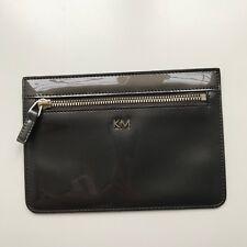 Karen Millen Grey Womens Zip Pouch Wallet