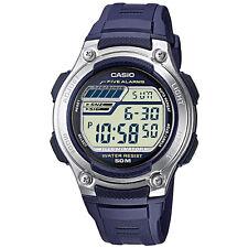 Casio Uhr W-212H-2AVES Herren Damen Digitaluhr Armbanduhr Blau Watch NEU & OVP