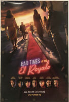"BAD TIMES AT THE EL ROYALE Original 27"" X 40"" DS/Rolled Movie Poster - 2018"