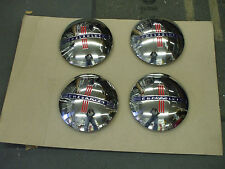 1940 Chevy car & truck set of four NEW hub caps L@@@@@@@@@@@@K