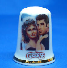 Birchcroft Thimble  -- John Travolta Grease Movie Poster --   Free Dome Box
