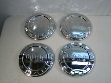 NEW 1961-1965 FORD F-100 PICKUP TRUCK STAINLESS HUB CAPS, SET OF 4....NICE!!!!
