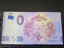 BILLET EURO SOUVENIR 2021-1 SARE ANNIVERSAIRE