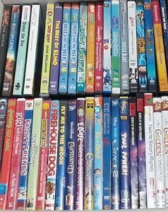Choose Your DVDs - Family/Animated/Children's - 2 for $5!  3 for $7!  4 for $9!