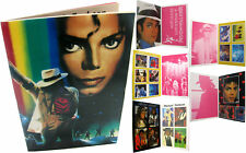 Michael Jackson Lot Autocollants Livret MOONWALKER Stickers Sticker Booklet 1988