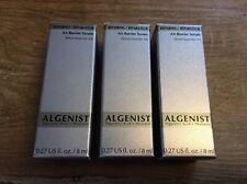 3 X Algenist AA Barrier Serum Sample Size Brand New 8ml (24ml Total)