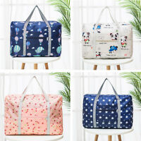 Packable Luggage Carry-on Duffel Bag Travel Tote Zipper Large Storage Bag Charm