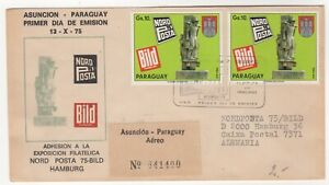 1975 Nov 13th. First Day Cover. Philatelic Exhibition, Nord Posta.