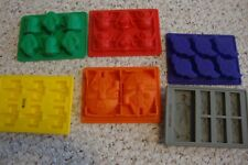 6 VIBRANT KITCHEN STAR WAR silicone molds, ice, candy etc...