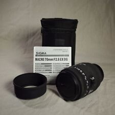 Sigma EX DG 70mm F2.0 EX DG AF Lens For Nikon