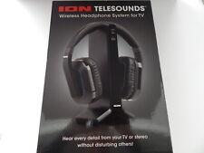 ION Audio Wireless Headphone System Digital Input Black New
