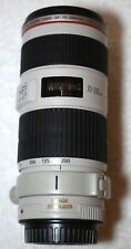 Canon 70-200mm f/4 L IS USM Lens w/ Hood and Padded Pouch