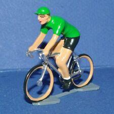 Cycliste miniature CBG Mignot Maillot Vert - Ech 1/35 - Cycling figure
