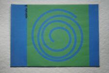 Spirale 3 1954, Max Bill, Richard Paul Lohse, Camille Gräser, Sophi Taeuber-Arp