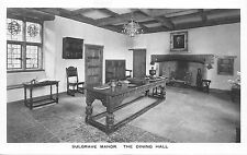 BR65154 sulgrave manor the dining hall    uk