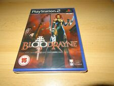 Ps2 Bloodrayne 2 UK PAL & Sony Factory