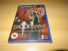 PS2 BLOODRAYNE 2 , PAL Reino Unido, NUEVO & Sony PRECINTO DE FÁBRICA