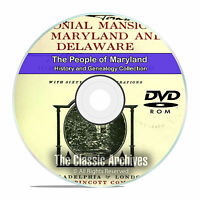 Maryland MD, People, Cities and Towns, History and Genealogy 67 Books DVD CD B05