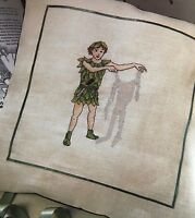 CROSS STITCH CHART Peter Pan Pyjama Case Tinkerbell Album Cover PATTERN ONLY