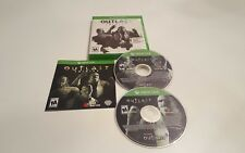 Outlast Trinity (Microsoft Xbox One, 2017)COMPLETE ULTRA  SHIPPING AND TRACKING