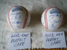 2012 PERFECT GAME ALL AMERICAN AUTOGRAPH BALL LOT CLINT FRAZIER JP CRAWFORD